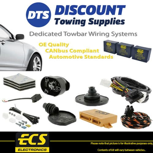image is loading ecs-13-pin-towbar-caravan-wiring-kit-for-